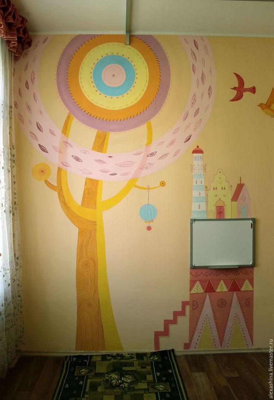 173 best kid room wall murals images on pinterest kids rooms fun stylish custom mural in a child s room kidroommural