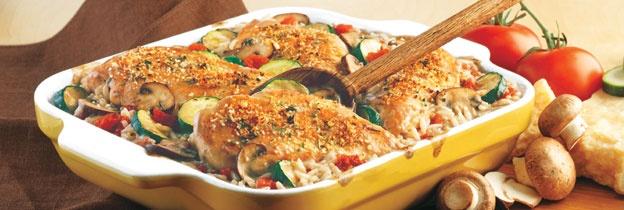 Italiano Chicken and Rice Bake