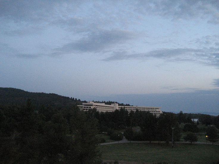 Porto Carras. Evening. Greece. May 2012.