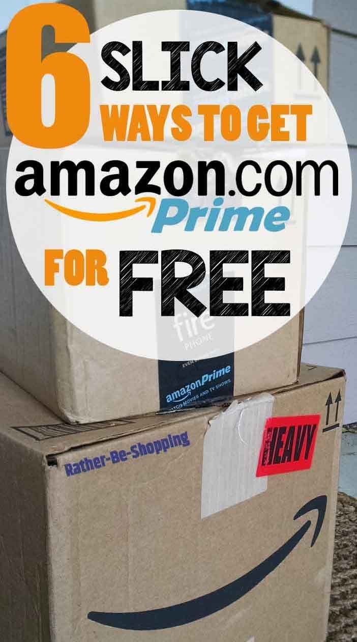 6 Brilliantly Slick Ways to Get Amazon Prime for FREE