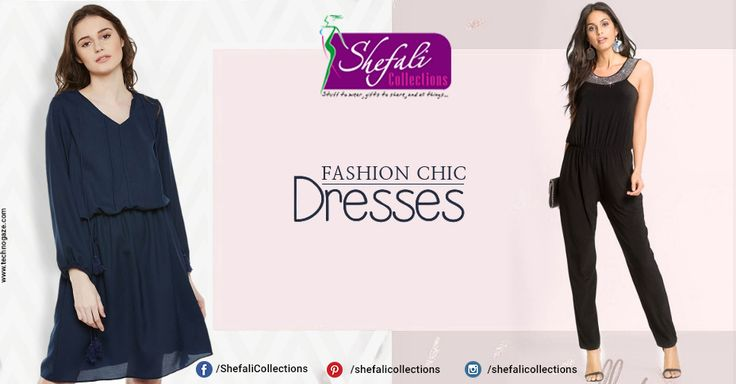 Fashion Chic Dresses !! Call @ 9993339994 #ShefaliCollections #Clothes #Fashion #Brand #Style #Dresses #WesternWear #Kurtas #Tops #Jeans