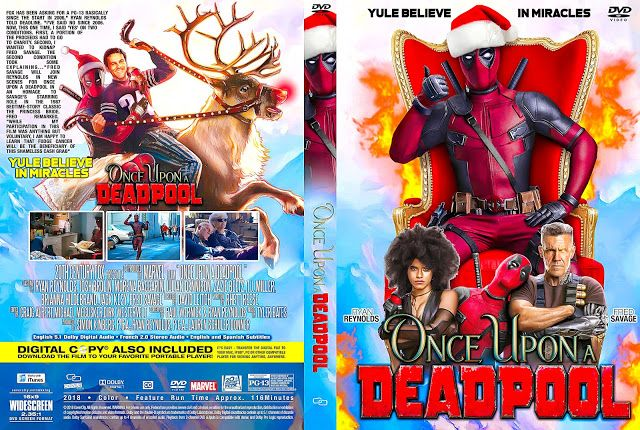 Once Upon A Deadpool Dvd Cover Dvd Covers Deadpool Dvd