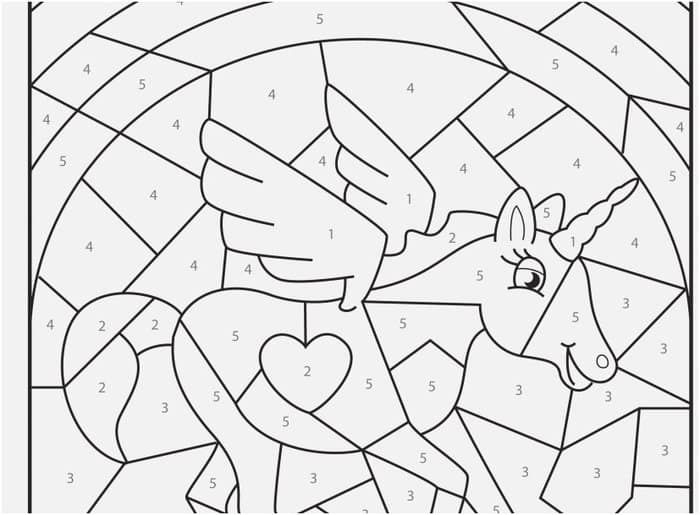 Unicorn Spring Color By Number Spring Coloring Pages Unicorn Coloring Pages Coloring Pages