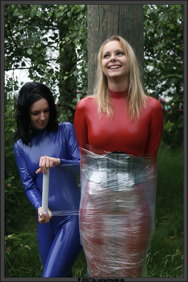 Shrink wrap porn