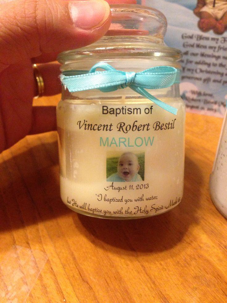 Baptism favor