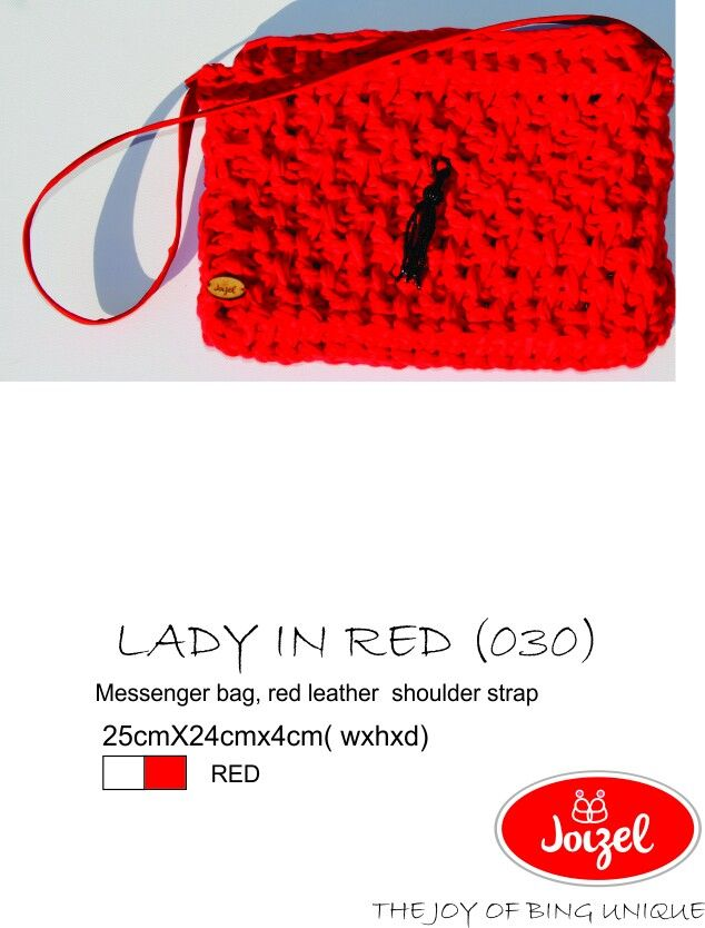 Handmade crochet bag by Joizel Bags