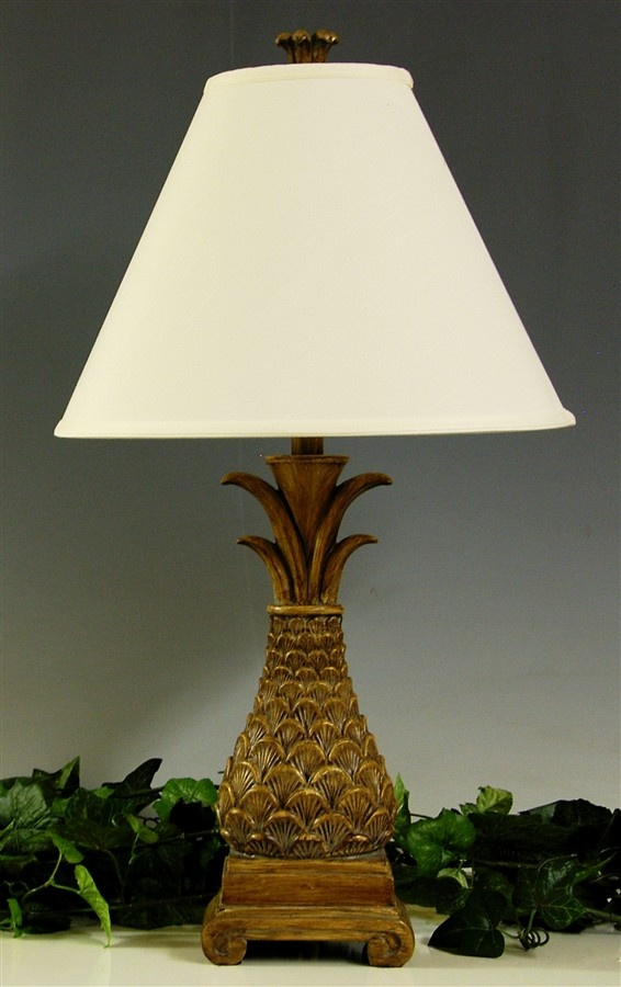 29 In Oval Pineapple Table Lamp For The Home
