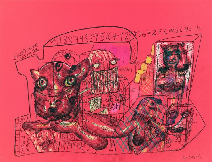 Bjarne Melgaard, Untitled (Veiled House), 2014, Rod Bianco Gallery