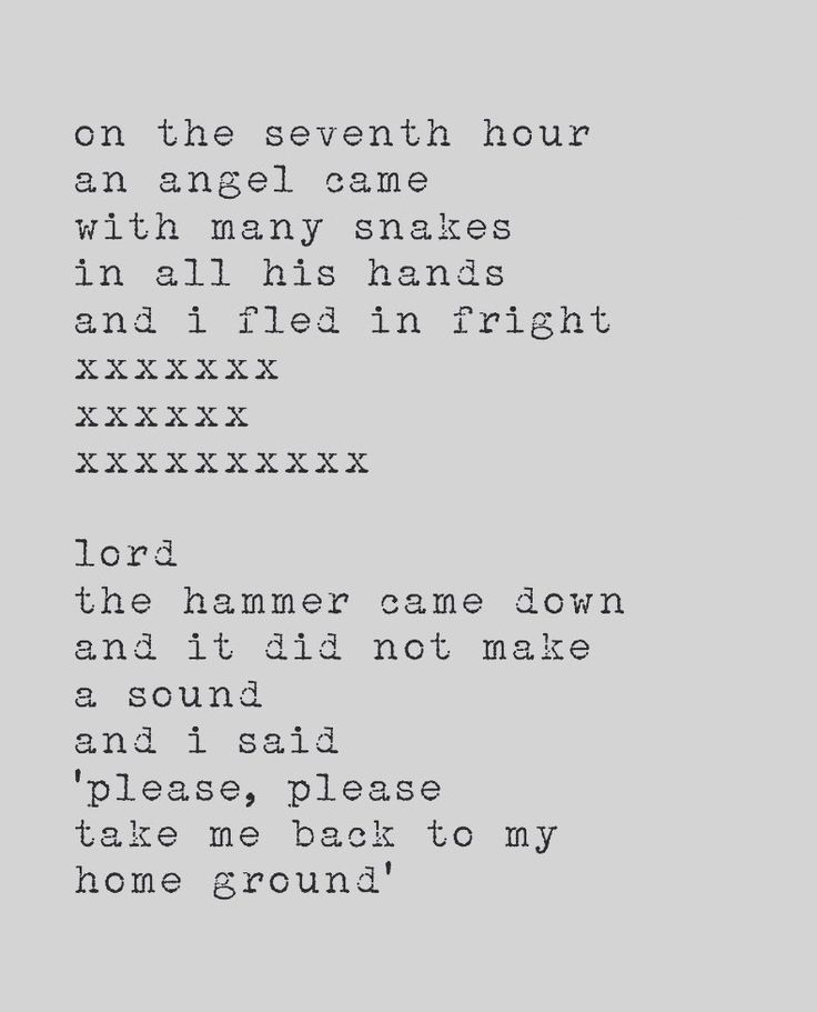 By RPP - The Nick Cave Typewriter on Instagram: The Hammer Song, The Good Son