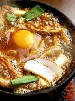 簡単で美味しい味噌煮込みうどん風の鍋焼きうどん