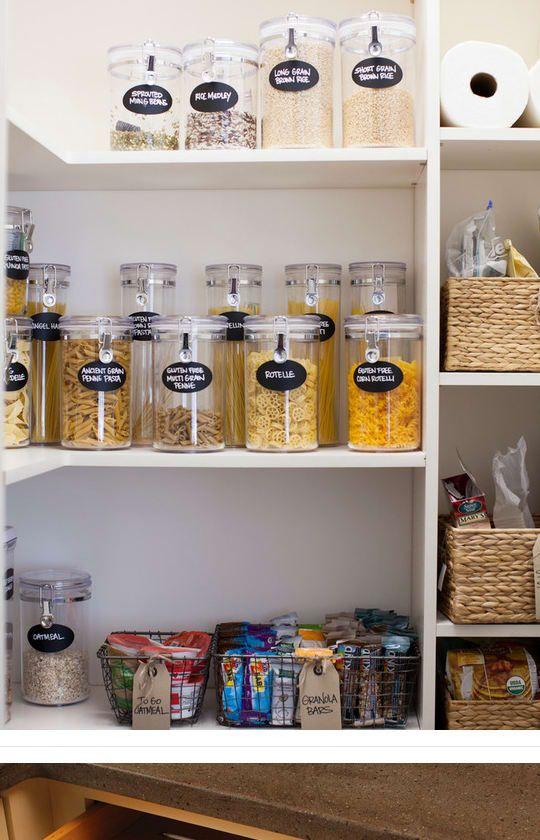 17 mejores ideas sobre etiquetas para la organización de despensas ...