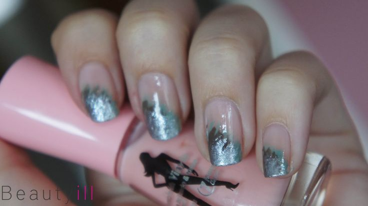 DIY, easy nailart met waaierkwast - Beautyill