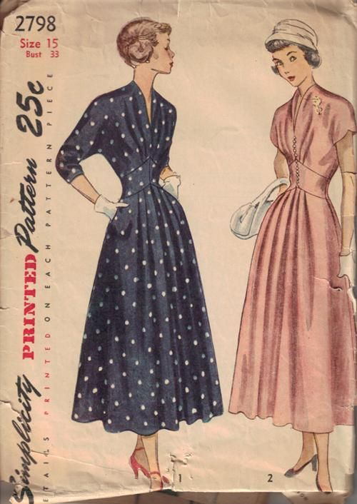 225 Best Images About Sewing Patterns On Pinterest 50s