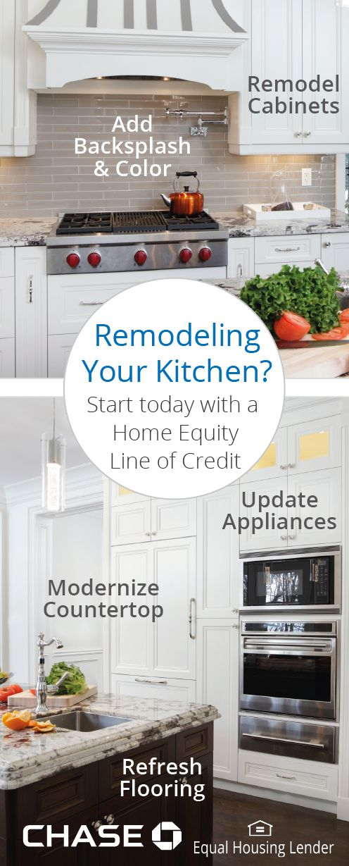 Remodeling your kitchen? Think modern countertops, updated appliances and beyond. Updates like these can turn a dated space into a culinary sanctuary. Here's what you need to know to renovate and finance your dream kitchen.