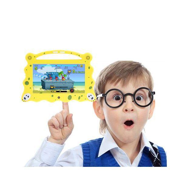 La tablette tactile enfant éducative 7 pouces Android 4.4 Dual Core WiFi à l'image de BoB l'éponge !
