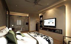 Fantastic Bedroom Design With Tv