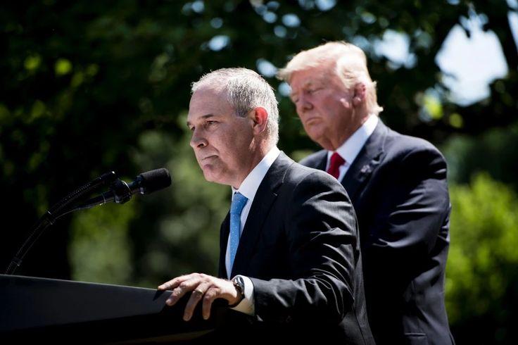 EPA's Scott Pruitt wants to set up opposing teams to debate climate change science