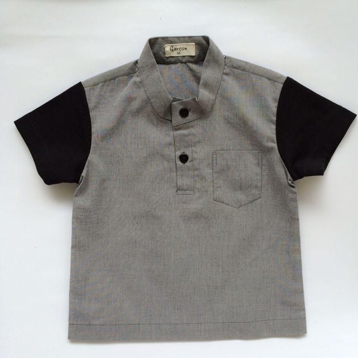 Grey shirt  #garconkids #localbrand #ootdindo #iwearlocal #instakids #instadaily #ootdkids #wiwtkids #wiwt #ootd #fashionkids #babywear #kidswear #babyshirt #kidsshirt #babypants #kidspants #babycloth #kidscloth #bajuanak #bajubayi #celanaanak #celanabayi