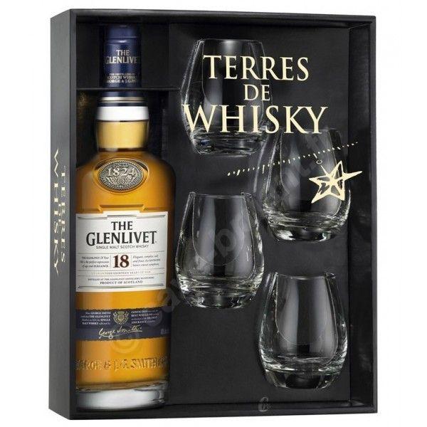 Coffret Terre de Whisky GlenLivet 18 ans