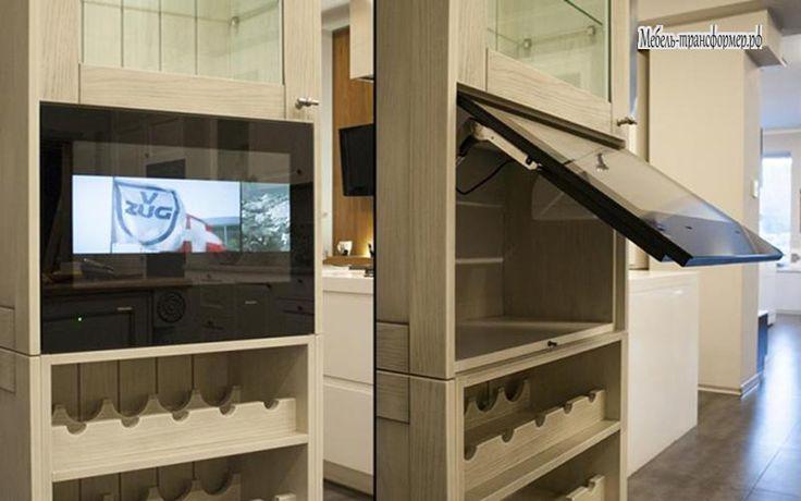 Встраиваемый телевизор - Шкаф трансформер - Мебель-трансформер.РФ