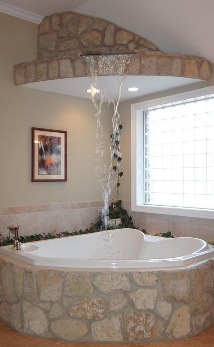 25 best ideas about jacuzzi tub decor on pinterest bathtub decor garden tub decorating and - Corner tub bathrooms design ...