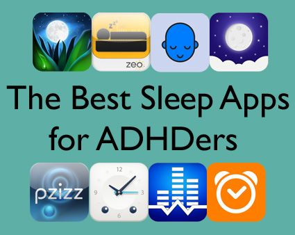 Can't slow down your busy brain for a good night's rest? These 8 ADHD-friendly apps will help you catch those zzz's!