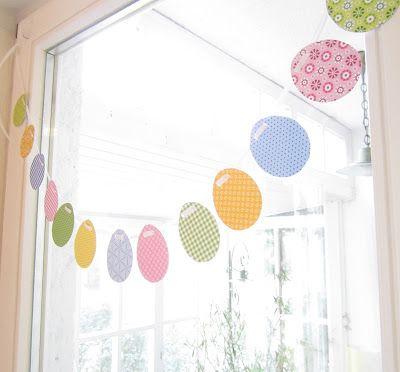 Sublót: gyors húsvéti dekoráció papírból