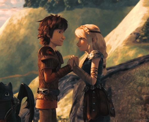 I love both of their expressions so much!!!And how he puts his hand on her waist!! AAAAAAHHHHH!!!!! Hiccup looks at Astrid so lovingly before he kisses her and Astrid just has this really suprised look on her face when he kisses her and now I'm dying from the feels it was nice knowing you world!!!!!!