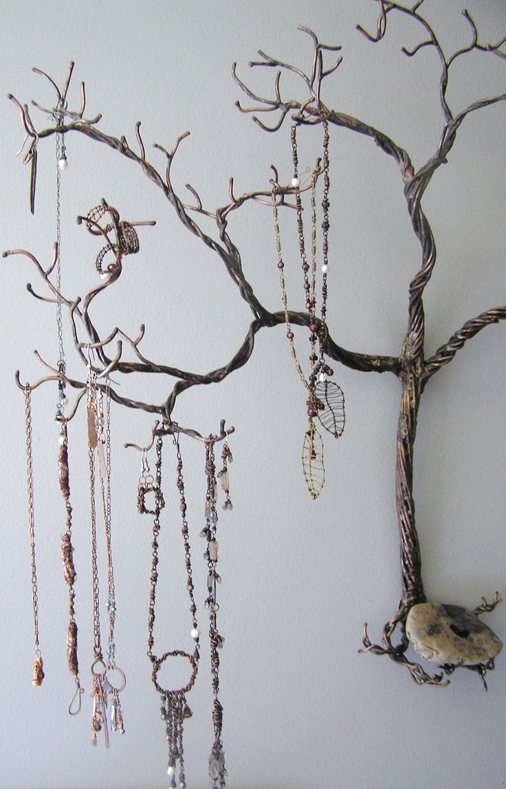 I want to make this! how to make a wire jewelry tree | Grandpa's wire tree | Natură Studios