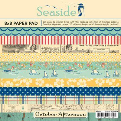 Cute, vintage-looking scrapbook paper design