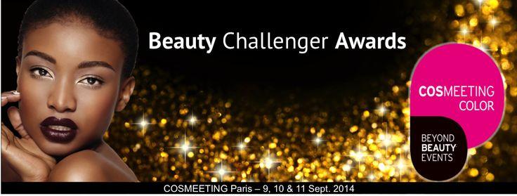 JUST FOR REAL (NIGERIA), membre du jury Pro des Beauty Challenger Awards, catégorie Cosmeeting Color.  RDV dès demain ! COSMEETING & CREATIVE BEAUTY the place to be Du 9-11 septembre à la Porte de Versailles (Hall 4)