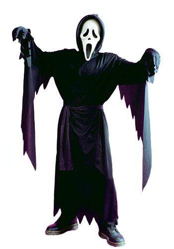 Andrew's Halloween Costume - Child Scream Costume
