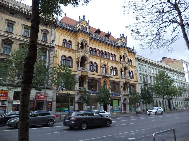 Budapest building facade