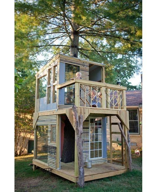 Outdoor Play House - Home and Garden Design Ideas