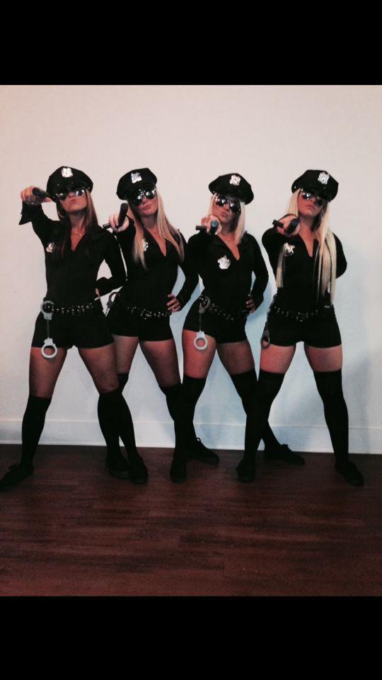 Sexy cop Halloween costume