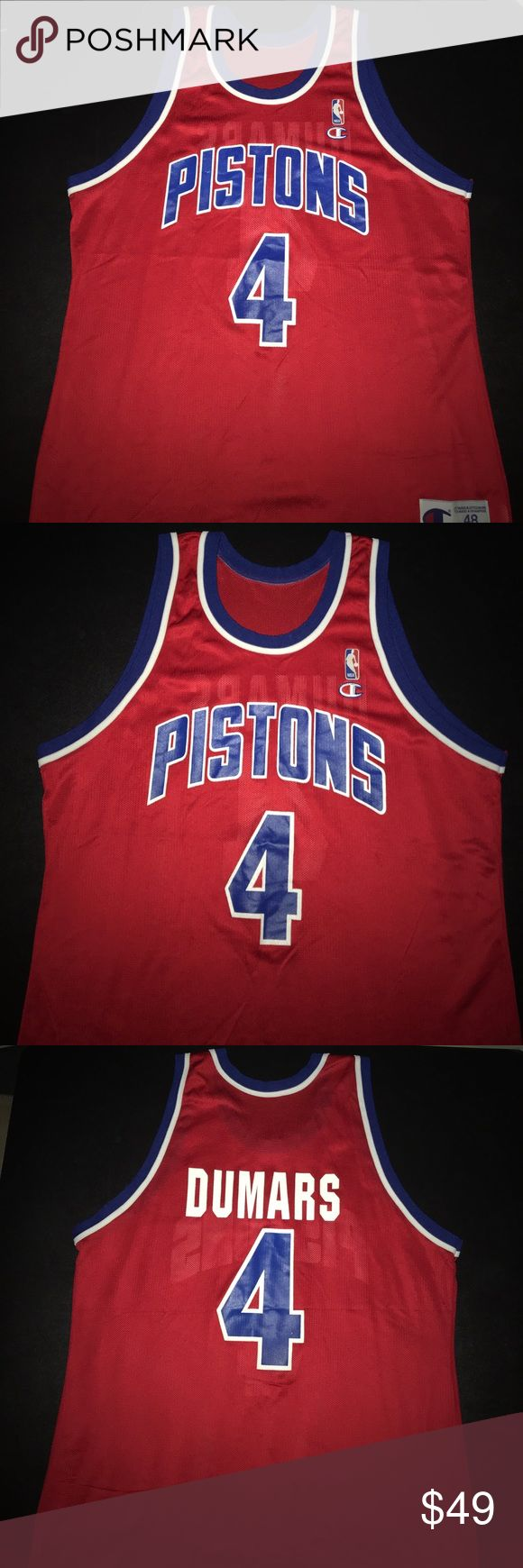 684ed8c06 ... stitched 6c2ae 57229; promo code for throwback jersey mens nba detroit  pistons joe dumars vtg champion jersey 114bf f4b84