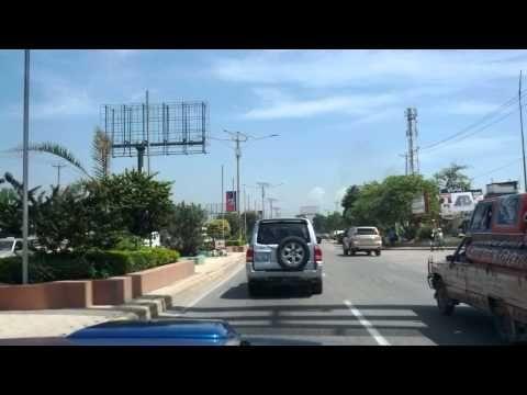 Port au Prince Haiti - Route de l'aeroport - Part 2 - YouTube