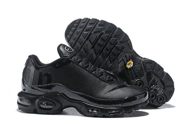 09ff8aa2ad0 Nike Mercurial Air Max Plus Tn All Black Men s Running Shoes in 2019 ...
