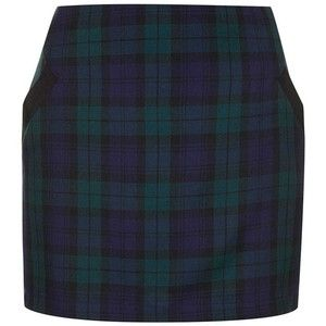 Women's Topshop Plaid Miniskirt