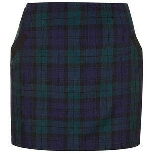 Women's Topshop Plaid Miniskirt