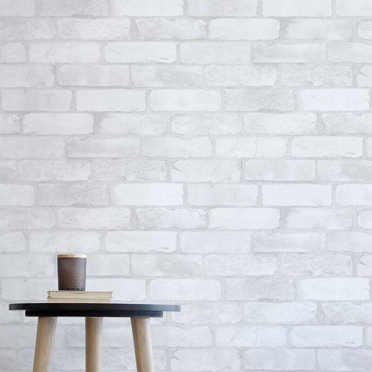 Les 25 meilleures id es de la cat gorie papier peint effet brique sur pinterest papier peint - Rouleau adhesif effet marbre ...