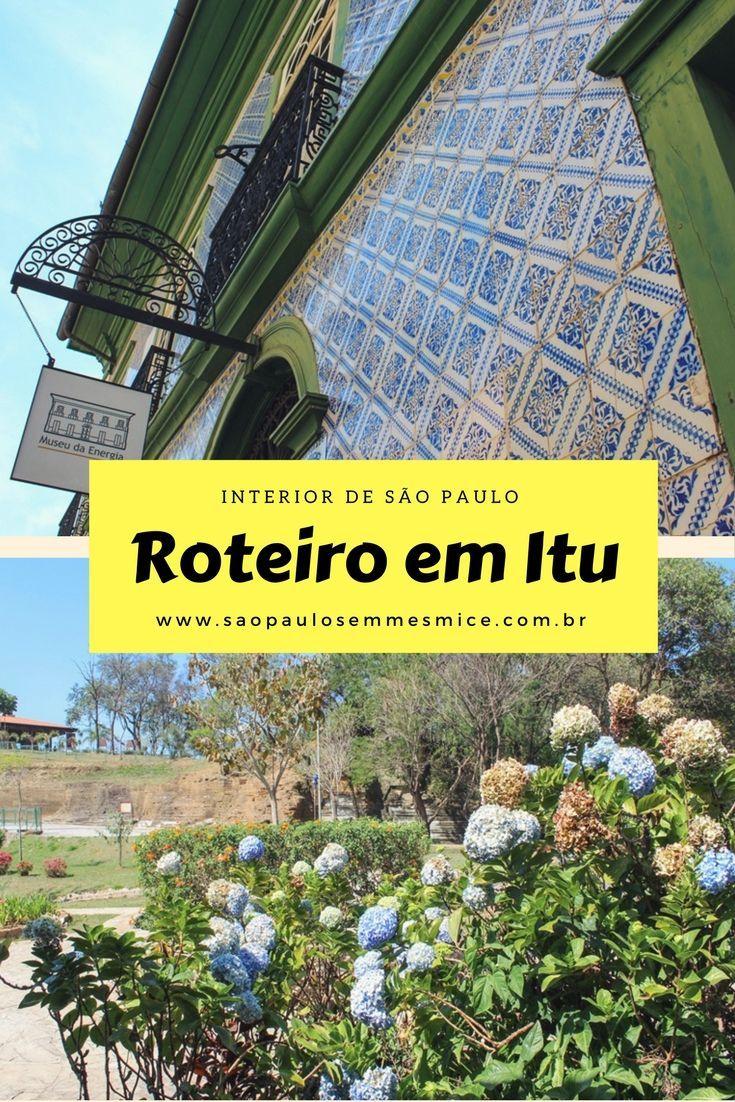 Itu no interior de São Paulo é perfeito para uma viagem de bate ou pra aproveitar o final de semana ou feriado saindo da capital. Repleta de patrimônio histórico, arquitetônico e cultural, Itu vai além da sua fama da cidade dos exageros.