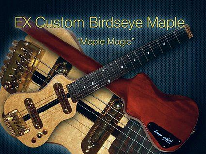 From Our Custom Travel Guitar Shop