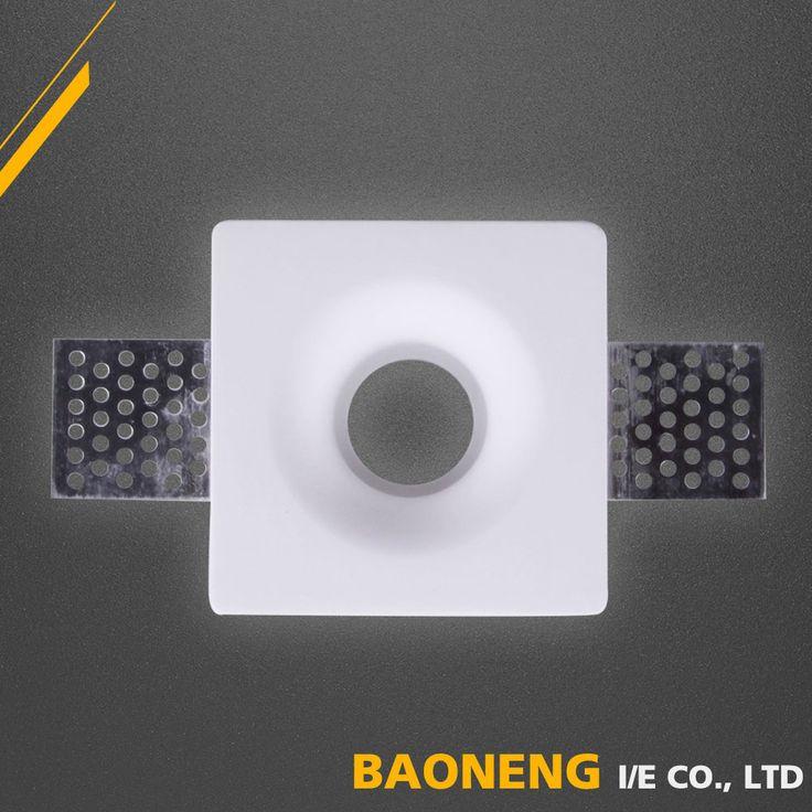80*80*30mm LED new model square gypsum plaster ceiling lights