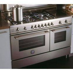 Range   48 Inch Gas Stove, 6 Burners, Double Oven, Griddle   Professional