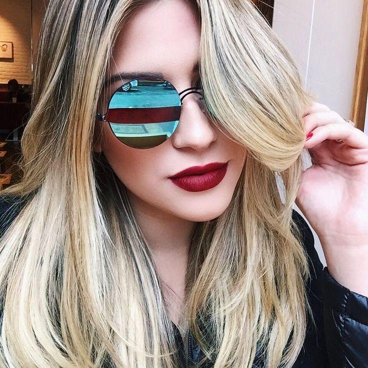 A coleção de Londres @niinasecretsstore está cheia de óculos lindos e diferentes como esse produzidos por @marialastore  link na bio ou aqui: http://ift.tt/2bas8fB