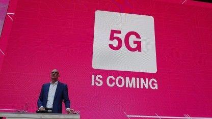 MWC 2017    Beim neuen Mobilfunkstandard 5G will die Deutsche Telekom der Erste sein. Deutschland werde als eines der ersten Länder ein neues Netz erhalten. Auch zu Glasfaser