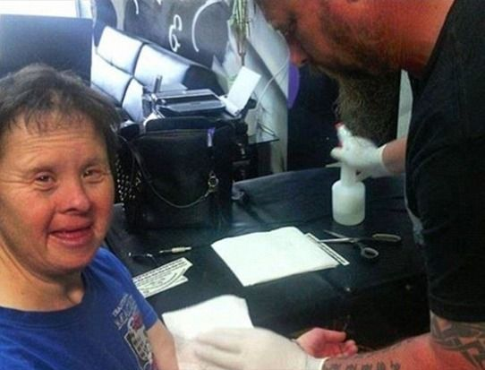 Tattoo Artist Refuses To Tattoo Down Syndrome Woman. What He Does Instead Is Incredible