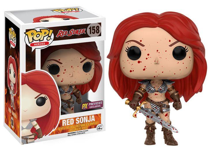 Funko Pop! Heroes: Red Sonja #158
