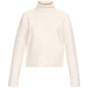 Proenza Schouler Asymmetric-striped roll-neck sweater